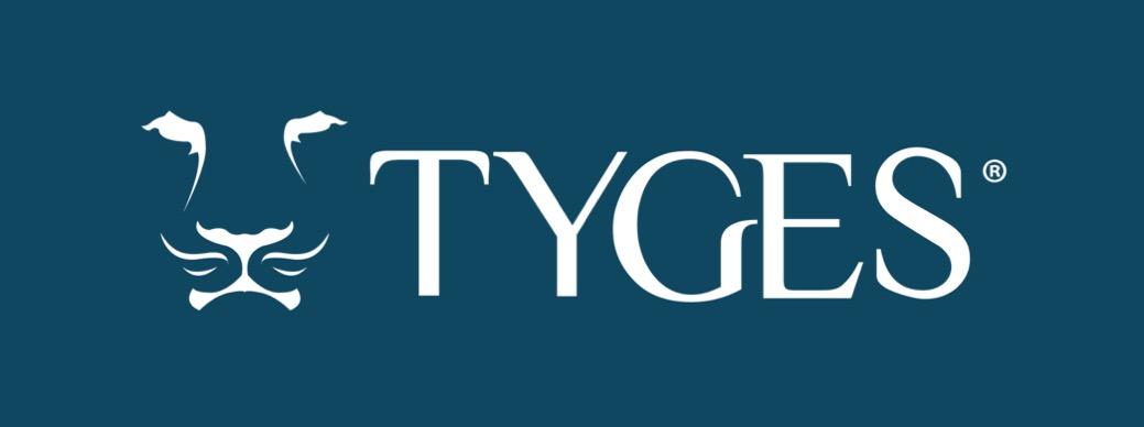 TYGES-Logo-White-on-Blue